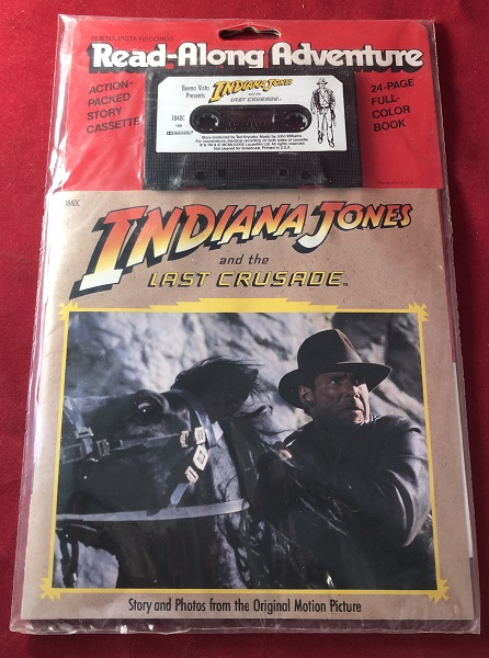 Indiana Jones and the Last Crusade Read-Along Adventure (SEALED BOOK AND CASSETTE). Randy THORNTON.