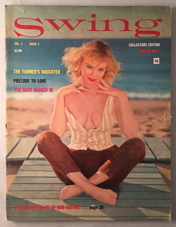Swing Magazine Vol. 1 Issue 1. Erotica, Ralph RAWLINGS, F. Marion CRAWFORD, et all.