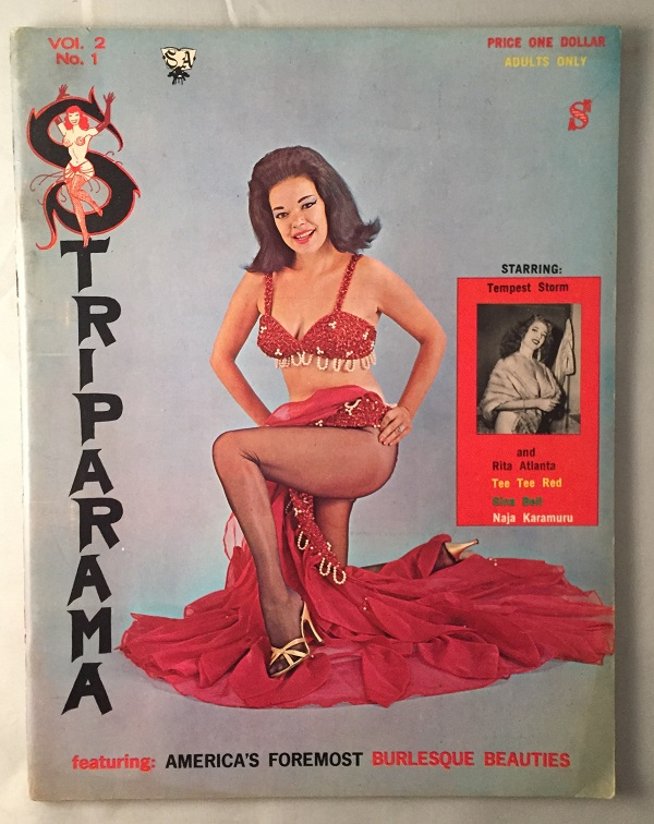 Striparama Magazine Vol. 2 No. 1. Erotica, Joseph KING, Carlson WADE, et all.