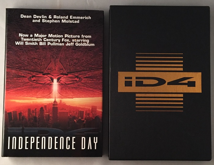 Independence Day (SIGNED LIMITED EDITION). Dean DEVLIN, Roland EMMERICH, Stephen MOLSTAD.