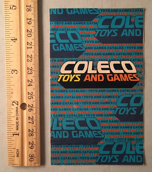 Official 1978 Coleco Toys and Games Fold-Out Product Catalog; THIRD AND FINAL PHASE OF THE POPULAR 'TELSTAR' SYSTEMS! COLECO.
