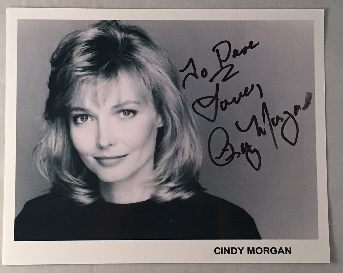 "Cindy Morgan Autographed 8X10 Promo Photo; ""Lacey Underall"" in Caddyshack! Autographs, Cindy MORGAN."