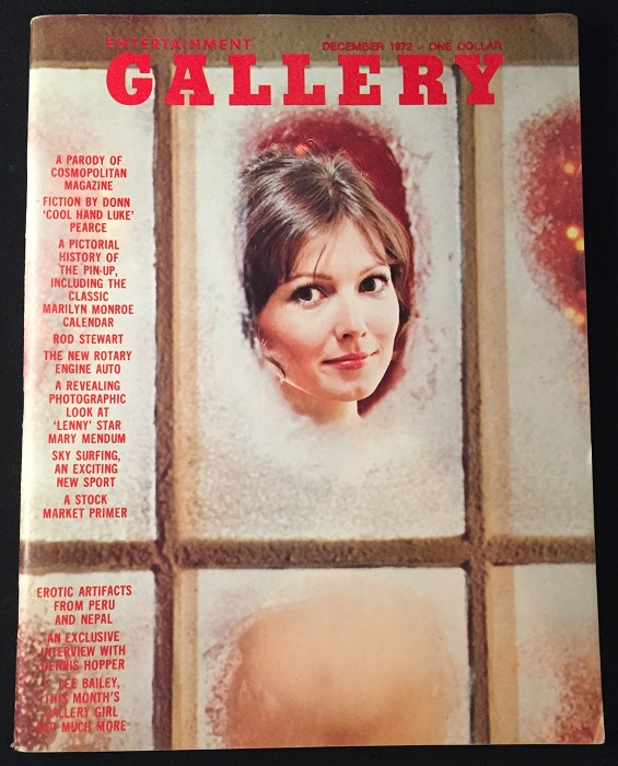 Gallery Magazine ISSUE #2 (December, 1972). Erotica, F. Lee BAILEY, James KAHN, et all.