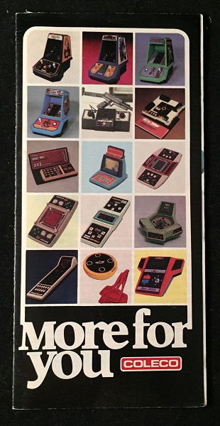 1982 Coleco Hand-Held Game 16-PP Folding Catalog. Gaming, Inc Coleco Industries.