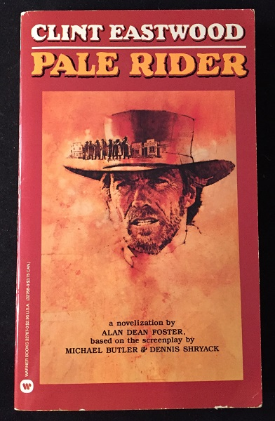 Pale Rider (SIGNED FIRST PRINTING). Alan Dean FOSTER.