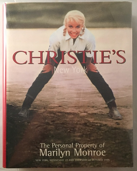The Personal Property of Marilyn Monroe (Christie's Hardcover Auction Catalog); Wednesday 27 and Thursday 28 October 1999. Marilyn MONROE, Meredith ETHERINGTON-SMITH, Nancy VALENTION.