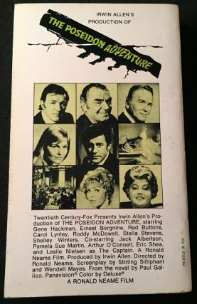 The Poseidon Adventure (FIRST PAPERBACK PRINTING)