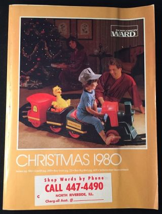 1980 Montgomery Ward Christmas Catalog (w/ Star Wars: The Empire Strikes Back). Toys, Montgomery Ward.