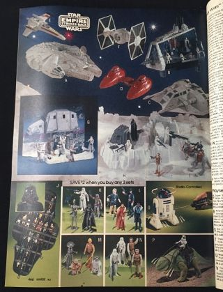 1980 Montgomery Ward Christmas Catalog (w/ Star Wars: The Empire Strikes Back)