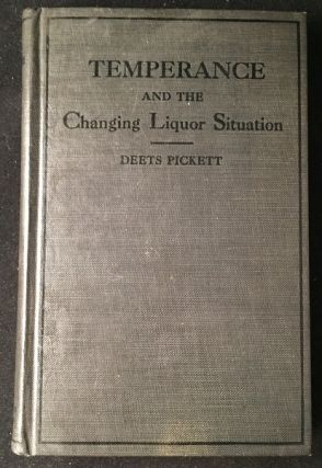 Temperance and the Changing Liquor Situation (REVIEW COPY WITH SLIP). Medicine Health, Nutrition.