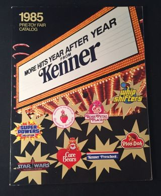 1985 Pre-Toy Fair Catalog (SUPER POWERS & STAR WARS). Toys & Games, KENNER Products.