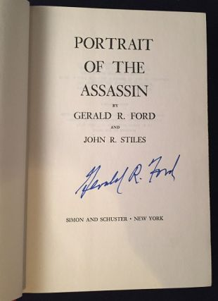 Portrait of the Assassin (SIGNED FIRST PRINTING)