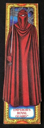 Original 1983 Star Wars Return of the Jedi EMPEROR'S ROYAL GUARD Bookmark; #13 in the series....