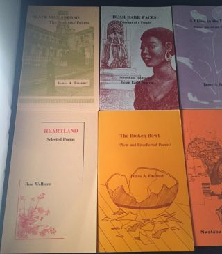 Archive of 13 First Printing Books of Poetry from Lotus Press (Detroit, MI) / AFRICAN-AMERICAN PUBLISHING HOUSE BUILT BY NAOMI LONG MADGETT