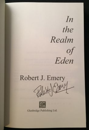 In the Realm of Eden (SIGNED FIRST PRINTING)