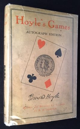 Hoyle's Games: Autograph Edition (IN ORIGINAL DJ). Toys & Games, Edmond HOYLE, R. F. FOSTER.