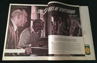 "TRUE: The Man's Magazine - August, 1950 (Contains ""The 9 Lives of Scottsboro"" story by Quentin Reynolds) - CIVIL RIGHTS INTEREST"