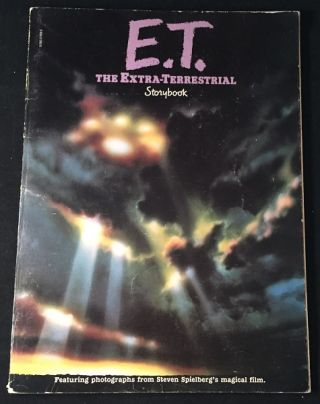 E.T. The Extra-Terrestrial Storybook (SIGNED FIRST PRINTING). William KOTZWINKLE