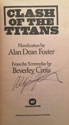Clash of the Titans (SIGNED FIRST PRINTING)