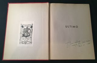 Ultimo (SIGNED FIRST PRINTING)