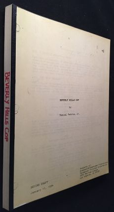 "Beverly Hills Cop Screenplay, Circa 1984 (Early 2nd Draft featuring ""Axel Elly""). Daniel PETRIE,..."