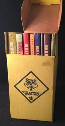 Vintage 1973 DEN LEADER Library Kit (New In Box). Boy Scouts of America