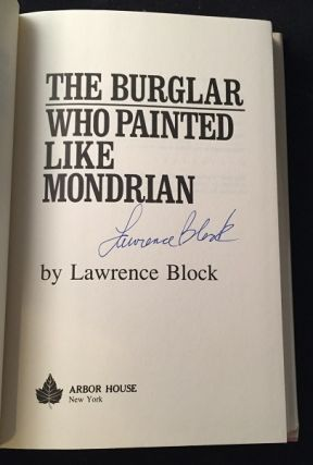 The Burglar Who Painted Like Mondrian (SIGNED FIRST PRINTING)