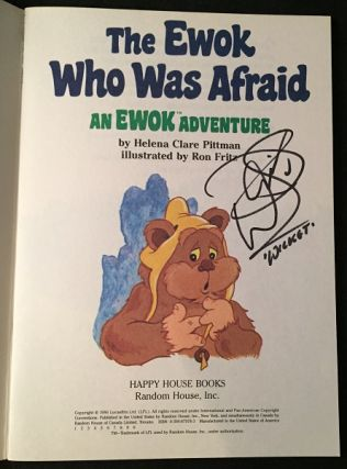 The Ewok Who Was Afraid (FIRST PRINTING SIGNED BY WARWICK DAVIS)
