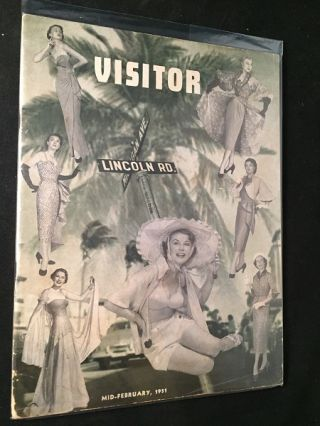 Miami - Miami Beach VISITOR (February, 1951). Beverley DEMING, et all