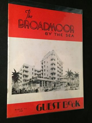 The Hotel Guest Book - The Broadmoor by the Sea (March 1, 1948). Lucille BALL, Lorna CLARK, et all