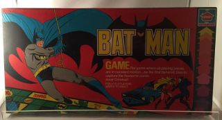 The Batman Game (1978 Classic STILL SEALED IN ORIGINAL PLASTIC). Bob KANE