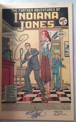 "The Further Adventures of Indiana Jones #1 (SIGNED AT ""1ST ONE"" BY JOHN BYRNE!)"