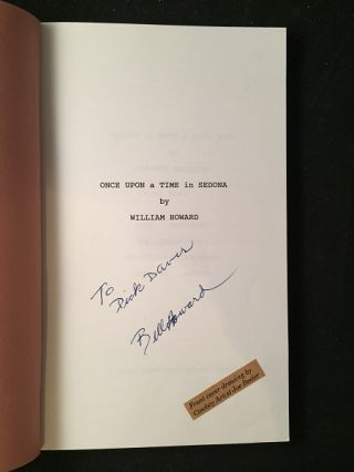 Once Upon a Time in Sedona (SIGNED FIRST PRINTING)