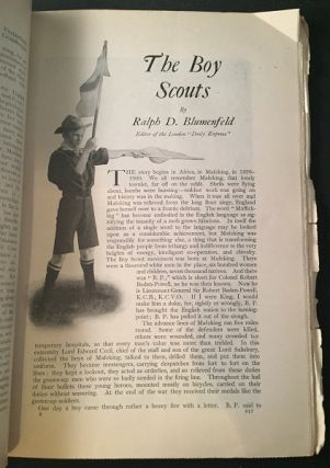 """Outlook Magazine: July 23, 1910 (Contains """"The Boy Scouts"""" First Year Coverage)"""