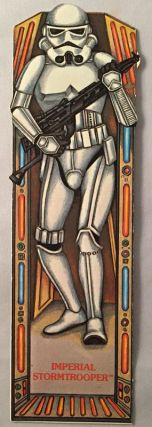 Original 1983 Star Wars Return of the Jedi IMPERIAL STORMTROOPER Bookmark; #14 in the series....