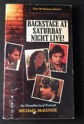 Backstage at Saturday Night Live! Michael MCKENZIE