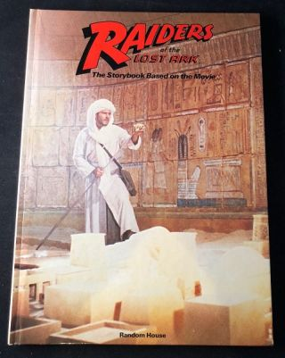"Raiders of the Lost Ark (First Edition w/ ""1""). Indiana Jones, George LUCAS, Lawrence KASDAN, Les MARTIN."