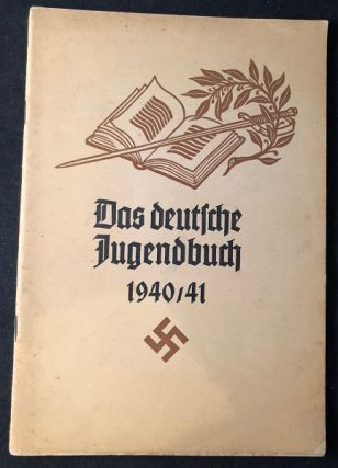 Original 1940/41 German Youth Directory for the Educator at Home and School (ORIGINAL WRAPS); Complete listing of all heads of the various Government departments of the Third Reich. Adolf HITLER, HITLER YOUTH.