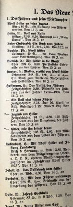 Original 1940/41 German Youth Directory for the Educator at Home and School (ORIGINAL WRAPS); Complete listing of all heads of the various Government departments of the Third Reich