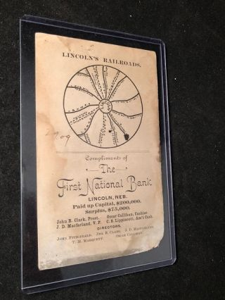 Facts About Lincoln, Nebraska (ORIGINAL 1890 CITY ADVERTISING BOOKLET)