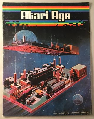 Atari Age Magazine (July/August 1982 - Volume 1, Number 2). Steve MORGENSTERN.