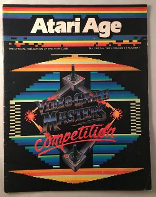 Atari Age Magazine (Nov. 1983/Feb. 1984) - Volume 1, Number 2) OFFICIAL INTRODUCTION OF MARIO BROS. Steve MORGENSTERN.