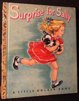 "Surprise for Sally (w/ ""A"" on final page). Ethel CROWNINSHIELD"