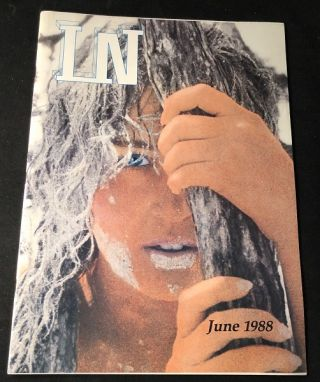 IN Magazine - June, 1988 (Atlanta Lifestyle). Perry ELLIS, Robert RICH, John FRANCO, Bruce HOULE
