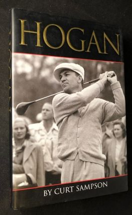 HOGAN (SIGNED EDITION). Golf, Curt SAMPSON.