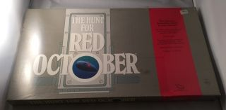 The Hunt for Red October (ORIGINAL SEALED BOARD GAME). Tom CLANCY