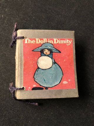 The Doll in Dimity (MINIATURE). Anonymous