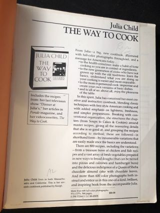 The Way to Cook (SCARCE UNCORRECTED PROOF COPY)