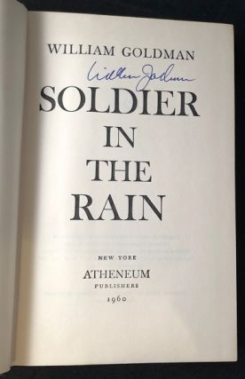 Soldier in the Rain (SIGNED FIRST PRINTING)
