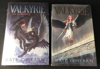VALKYRIE (TWO VOLUME 1ST PRINTING SET). Kate O'HEARN.
